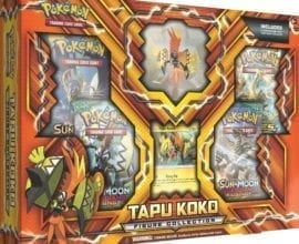Pokémon Tapu Koko Figure Collection