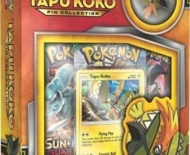 Pokémon Tapu Koko Pin Collection