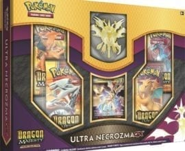 Pokémon Dragon Majesty Figure Collection-Ultra Necrozma-GX