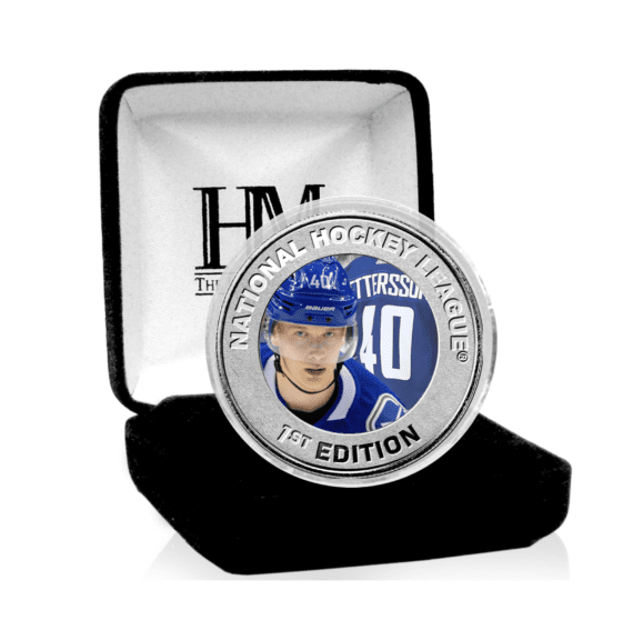 Vancouver Canucks - Elias Pettersson Rookie Season Commemorative Coin