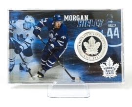 Morgan Rielly - Toronto Maple Leafs Silver Coin
