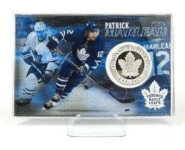 Patrick Marleau - Toronto Maple Leafs Silver Coin