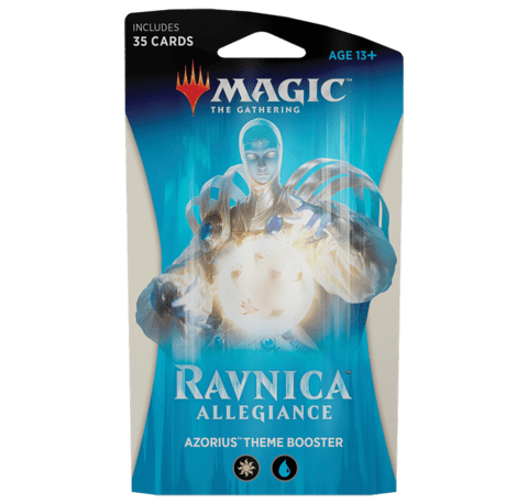 Magic: The Gathering - Ravnica Allegiance Theme Booster - Set of 5