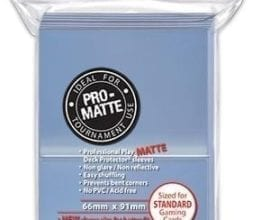 Ultra Pro - Pro-Matte Standard Card Sleeves - Clear