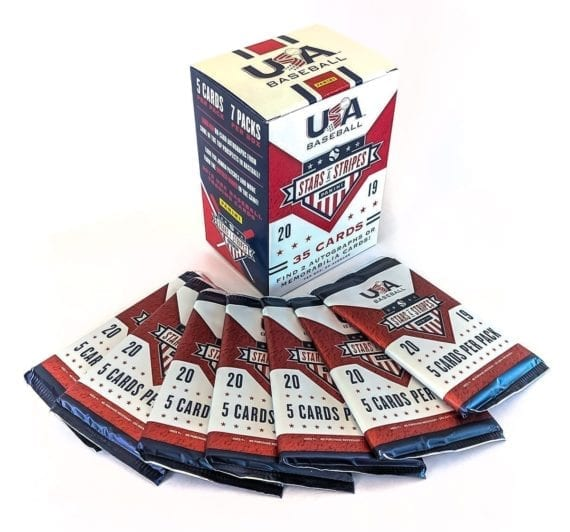 2019 Panini USA Baseball Stars & Stripes Blaster Box