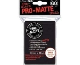 Ultra Pro - Pro-Matte SMALL Card Sleeves - Black