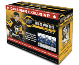 2019-20 Upper Deck Series 1 Team Triples Blaster Box