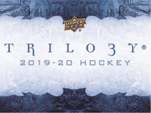 2019-20 Upper Deck Trilogy Hockey
