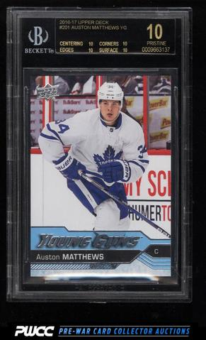 2016-17 Auston Matthews Young Guns Rookie Card