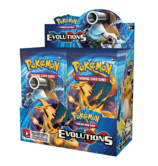 pokemon tcg xy evolutions booster