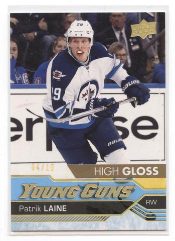 2016-17 Patrik Laine Young Guns High Gloss Rookie Card