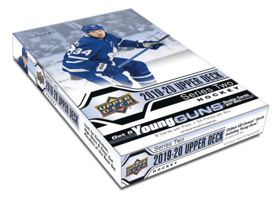 2019-20 Upper Deck Series 2 Hockey Hobby Box