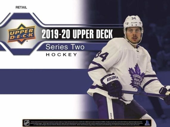 2019-20 Upper Deck Series 2 Hockey Tin - Case of 12