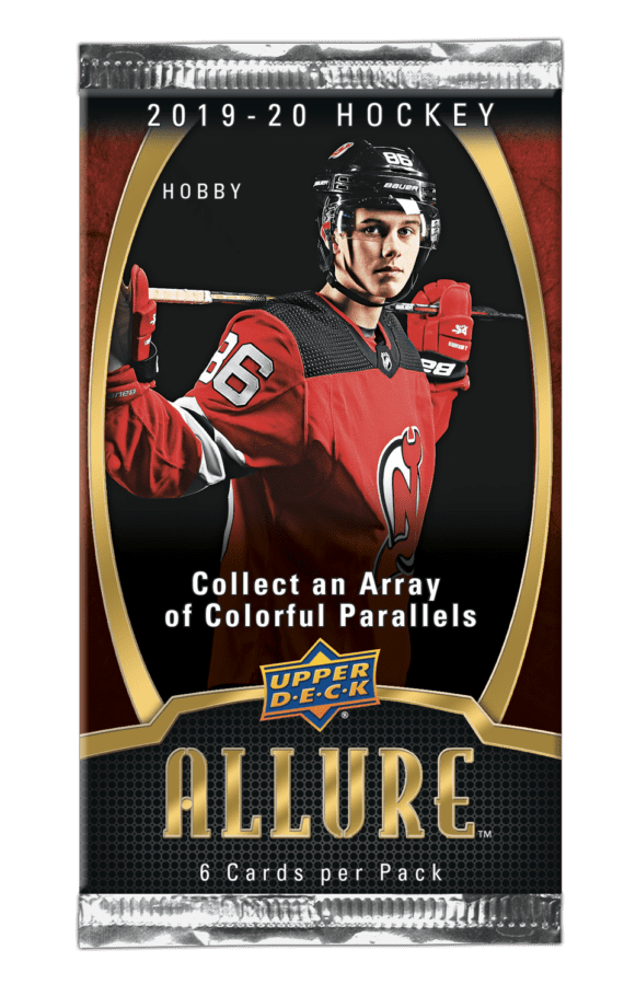 2019-20 Upper Deck Allure Hobby Box