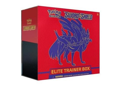 Sword and Shield Elite Trainer Box