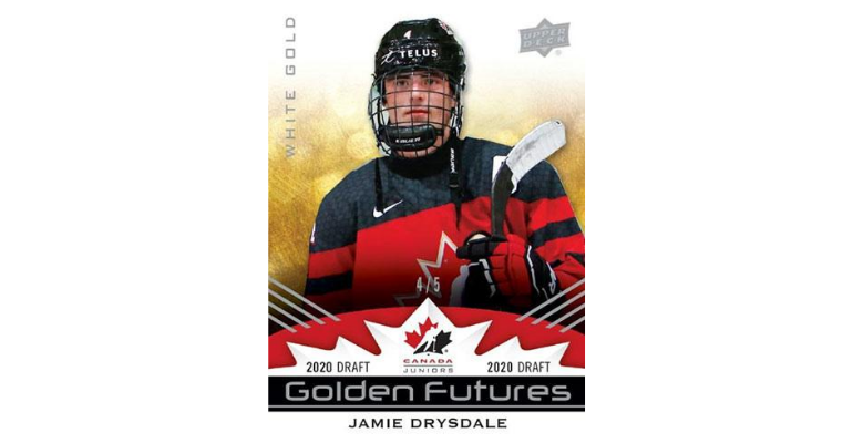 Celebrate The Great White North With Upper Deck's 2020-21 Team Canada Juniors Set